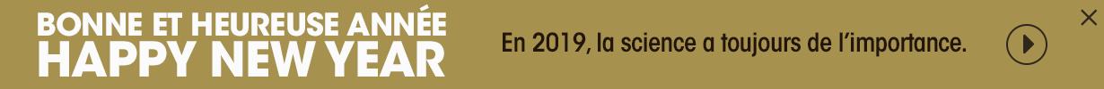 Bonne et heureuse année, Happy new year. En 2019, la science a toujours de l'importance.  (nouvelle fenêtre)